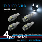 4x T10 White 5050 5LED W5W 194 168 Dash Wedge Tail Number Plate Parker Light OZ