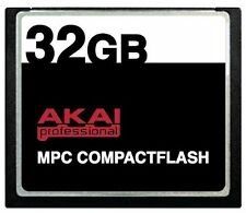 32GB Akai MPC CompactFlash CF Memory Card for MPC500, MPC1000, MPC2500 and MPC50