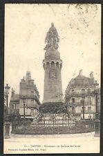 CPA TROYES Monuments Enfants de l'Aube Maison des Magasins réunis début XXè