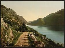 Bandak Lake From Dalen Telemarken A4 Photo Print