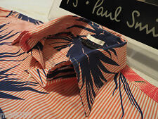 """PAUL SMITH Mens Shirt �� Size L (CHEST 42"""") �� RRP £95+ �� FANTASTICALLY FLORAL"""