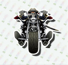10pcs Skeleton rider Sticker Bomb Decal Vinyl Roll Car Skate Skateboard Laptop