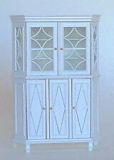"MINIATURE DOLLHOUSE ""CHERE"" GLASS CABINET BY MARITZA FOR BESPAQ - MM 030 W"