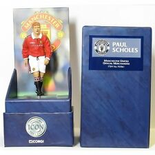 Corgi Icon figure F03061 Paul Scholes Manchester United Official Merchandise