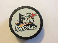 Defunct Quebec Rafales IHL Hockey Puck Official Czech Republic 1996-98