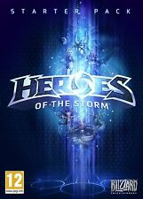 Heroes of the Storm Starter Pack (PC/Mac DVD) BRAND NEW SEALED