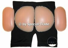 "Push-Up Panty Silicone Pushup Panties Buttocks Hips, black, (48-50) ""XXL"" (624)"