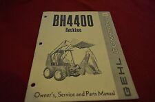Gehl BH 2500 Backhoe For Skid Loader Dealer's Parts Book Manual HVPA