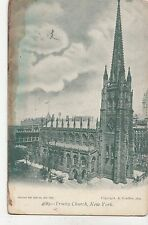 BF19002 trinity church  city  New york USA front/back image