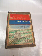 Thomas Mann  THE HOLY SINNER  Hard Cover with Dust Jacket 1st Edition