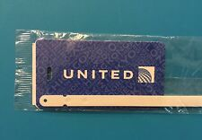 UNITED AIRLINES LUGGAGE TAG-- DESTINATIONS
