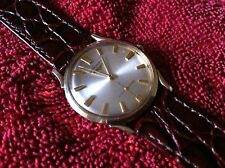 1 MEN'S WATCH LONGINE 10K GOLD FILLED ( 17 JEWEL SWISS MADE, WORKS VERY GOOD)