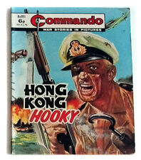 DC Thompson 1970's Early Commando Comic Book no.891, War Military Army
