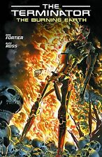 TERMINATOR: THE BURNING EARTH TPB Ron Fortier Dark Horse Comics TP Alex Ross