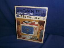 Vintage GE Show'N Tell A Trip Around The Sun Picturesound Program 1964