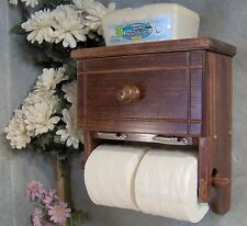RM504 Two Roll Toilet Paper Holder with storage cabinet & shelf JLJ  Original