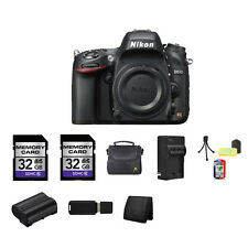 Nikon D610 Digital SLR Camera 64GB Package