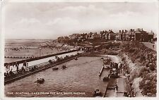 The Boating Lake From Spa, BRIDLINGTON, Yorkshire RP