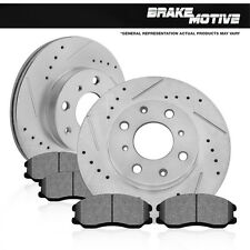 Front 278mm Rotors Metallic Pads 2005 2006 2007 FORD FOCUS LX SE ZTS ZTW ZX3 ZX5
