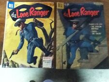 2 Lone Ranger Dell comic books both are vol. 1 & numbers 87 & 129