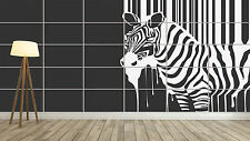ZEBRE ZEBRA STYLE STRIPES RAYURES Giant Poster Home Deco Salon 252cmX150