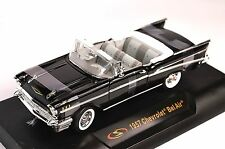 CHEVROLET BEL AIR CONVERTIBLE 1957 1:32 SIGNATURE 32430  NEW BLACK