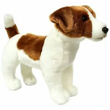 33cm Jack Russell Dog Soft Toy - Plush Toy - Suitable For All Ages (0+)