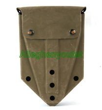 Military E-TOOL CARRIER ETool Cover Case Entrenching Tool Pouch COYOTE BROWN VGC