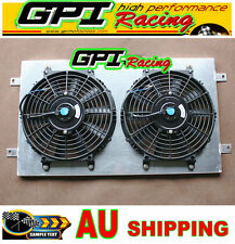 RADIATOR shroud +fans HOLDEN Kingswood HG HT HK HQ HJ HX HZ V8 Chev engine