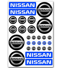 NEW 29 Stickers Car Motorsport Auto Helmet Wheel Caps Plate Mirror Key Nissan