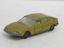 BMC 1800 Pininfarina in gold, Matchbox Superfast Nr. 56, L: 7 cm, defekt