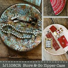 Store And Go Zipper Case: A Sewing Pattern for the Perfect Circular Travel Case
