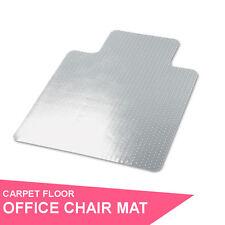 Clear Carpet Office Computer Work Vinyl Chair Mat PVC 1200 x 900mm