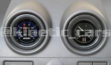 Fiesta mk 6 Heater vent 52mm carbon effect gauge pod panel adapter.