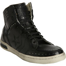 CONVERSE JOHN VARVATOS BLACK '86 STUDDED WEAPON HI-TOP SNEAKERS SIZE 8.5