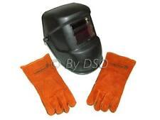 LCD Energía Solar Casco Soldadura CE aprobado con guantes gratis