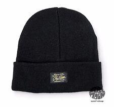 New Obey Watcher Cap Black Hat Beanie
