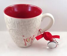 Starbucks Joy Live in Love and Wish for Joy Coffee Tea Cup Red White 2005