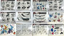10 sheets temporary tattoo Bohemian Boho Vintage Fake Tattoos Sticker