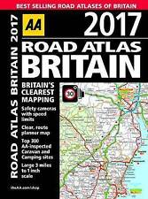 AA Road Atlas Britain 2017 - (Spiral Bound) A4 Large Scale - Brand New