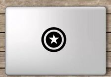 Captain America Shield Apple Macbook Air/Pro Vinyl Sticker Cover. Australia Made
