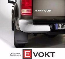 Volkswagen Amarok Rear Mud Flaps Set Left + Right VW Accessories Genine New