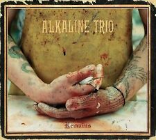 Alkaline Trio 2 disc CD / DVD set Remains mint rarities video Blink 182 punk