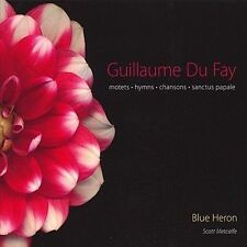 Guillaume Du Fay: Motets, Hymns, Chansons, Sanctus Papale [Audio CD] Blue Her...
