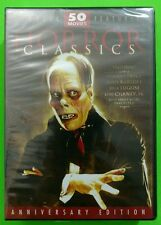 Horror Classics 50 Movie Pack DVD 12-Disc Set Brand New Factory Sealed