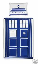 Official BBC Doctor Who Tardis Police Box Duvet Cover Set - Single Bed Size