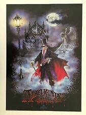 ALCHEMY GOTHIC,THE ALCHEMY CARTA, RARE AUTHENTIC 1999 POSTER