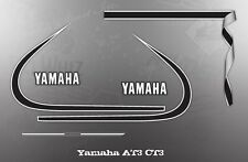 YAMAHA AT3 CT3 TANK COVER DECAL GRAPHIC KIT LIKE NOS
