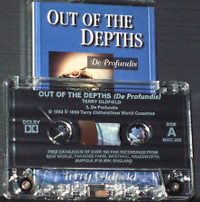 Terry Oldfield Out Of The Depths De Profundis CASSETTE ALBUM NWC 252 Ambient