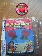 NEW LOWES BUILD & GROW SWEETHEART SWEET HEART PICTURE HOLDER WOOD MODEL & PATCH